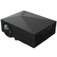 Mini Proyector LED GM60 (AV/VGA/USB/HDMI/SD) -Negro