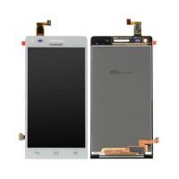 Full Screen Huawei Ascend G6 G535 Orange Gova White