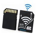 Adaptador Micro SD a Tarjeta SDHC WiFi