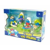 Los Pitufos: Set de 4 Figuras