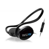 Auriculares Estéreo + Micrófono Licencia Oficial Nintendo Wii U
