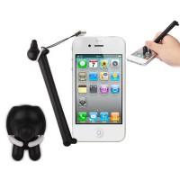 Lápiz Táctil Touch Dog para Smartphone/Tablet -Negro